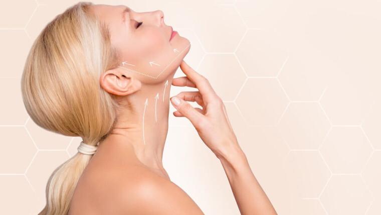 Nawilżanie i lifting twarzy kwasem hialuronowym